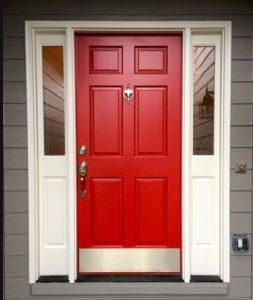paint your door for curb appeal